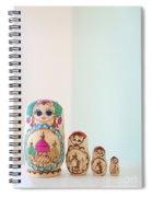 Russian Dolls Spiral Notebook
