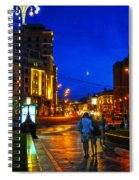 Russian Evening Spiral Notebook