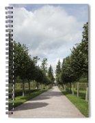 Russian Garden - St. Petersburg - Russia Spiral Notebook