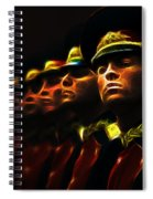 Russian Honor Guard - Featured In Men At Work Group Spiral Notebook