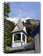 Russian Orthodox Church Bell Tower Spiral Notebook