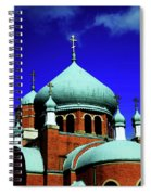 Russian Orthodox Church Spiral Notebook
