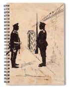 Russian Soldiers Spiral Notebook