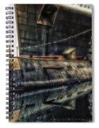 Russian Submarine Extreme Spiral Notebook