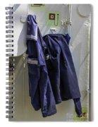 Russian Tall Ship Uniforms Spiral Notebook