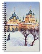 Russian Winter Spiral Notebook