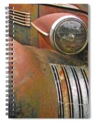 Rust ... The Other Color Spiral Notebook