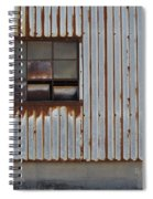 Rust And Window 1 Spiral Notebook