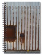 Rust And Window 2 Spiral Notebook