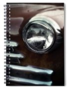 Rust-colored Chevy Spiral Notebook