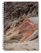 Rust Colored Formation Spiral Notebook