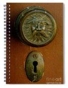 Rust Door Spiral Notebook