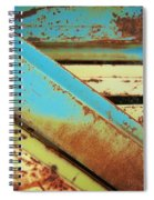Rust N Turquoise Spiral Notebook