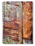 Rust Rules Spiral Notebook