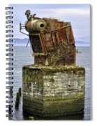 Rusted Equipment Spiral Notebook