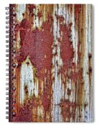 Rusted Spiral Notebook