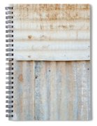 Rusted Metal Background Spiral Notebook