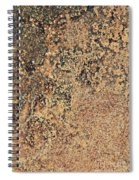 Rusted Metal Spiral Notebook