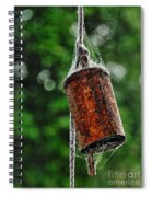 Rusted Old Cowbell Spiral Notebook