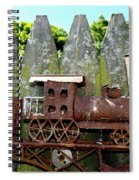 Rusted Rails Spiral Notebook
