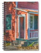 Rusted Tin Roof Spiral Notebook