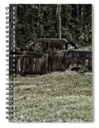 Rusted Truck Spiral Notebook