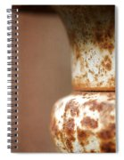 Rusted Urn Spiral Notebook
