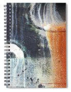 Rusted Waterfall Spiral Notebook