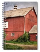 Rustic Barn Spiral Notebook