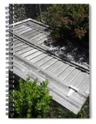 Rustic Cellar Door Spiral Notebook