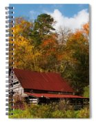 Rustic Charm Spiral Notebook