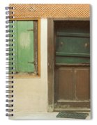 Rustic Door Spiral Notebook