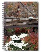 Rustic Fall Spiral Notebook