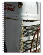 Rustic Ford Work Horse Spiral Notebook