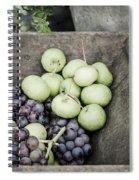 Rustic Fruit Spiral Notebook
