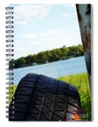 Rustic Lake Scene 1 Spiral Notebook