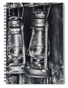 Rustic Lanterns Spiral Notebook
