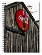 Rustic Spiral Notebook