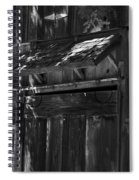 Rustic Shed 3 Spiral Notebook