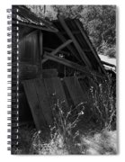 Rustic Shed 4 Spiral Notebook