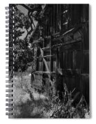 Rustic Shed 5 Spiral Notebook