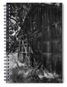 Rustic Shed 6 Spiral Notebook