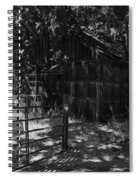 Rustic Shed 8 Spiral Notebook