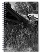 Rustic Shed 9 Spiral Notebook