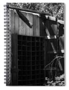 Rustic Shed Spiral Notebook