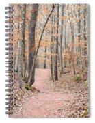 Rustic Trails In January 2013 Spiral Notebook