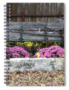 Rustic Wagon Spiral Notebook