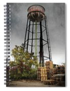 Rustic Water Tower Spiral Notebook
