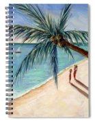 Rustling Palm Spiral Notebook