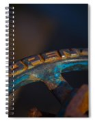 Rusty 5 Spiral Notebook